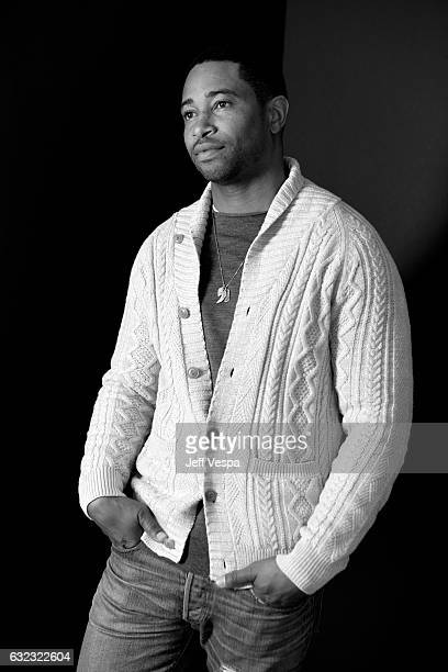 Actor Kevin Phillips from the film 'Roxanne Roxanne' poses for a portrait in the WireImage Portrait Studio presented by DIRECTV during the 2017...