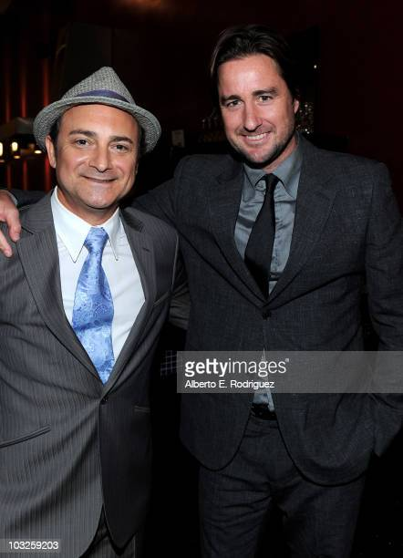 Actor Kevin Pollak and actor Luke Wilson arrive to the premiere of Paramount Pictures' Middle Men at the ArcLight Theaters on August 5 2010 in Los...
