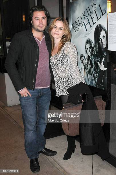 """Actor Kevin Ryan and actress Augie Duke arrive for the Screening of """"Bad Kids Go To Hell"""" held at Laemmle Music Hall Theater on December 7, 2012 in..."""