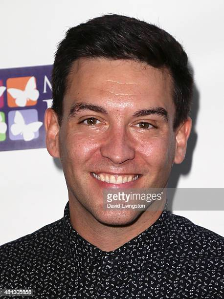 Actor Kevin Sacre attends the Music On A Mission benefit concert presented by Mending Kids at Lucky Strike Live on August 16 2015 in Hollywood...