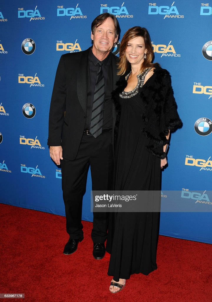Actor Kevin Sorbo and wife Sam Sorbo attend the 69th annual Directors Guild of America Awards at The Beverly Hilton Hotel on February 4, 2017 in Beverly Hills, California.