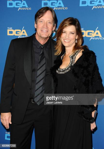 Actor Kevin Sorbo and wife Sam Sorbo attend the 69th annual Directors Guild of America Awards at The Beverly Hilton Hotel on February 4 2017 in...