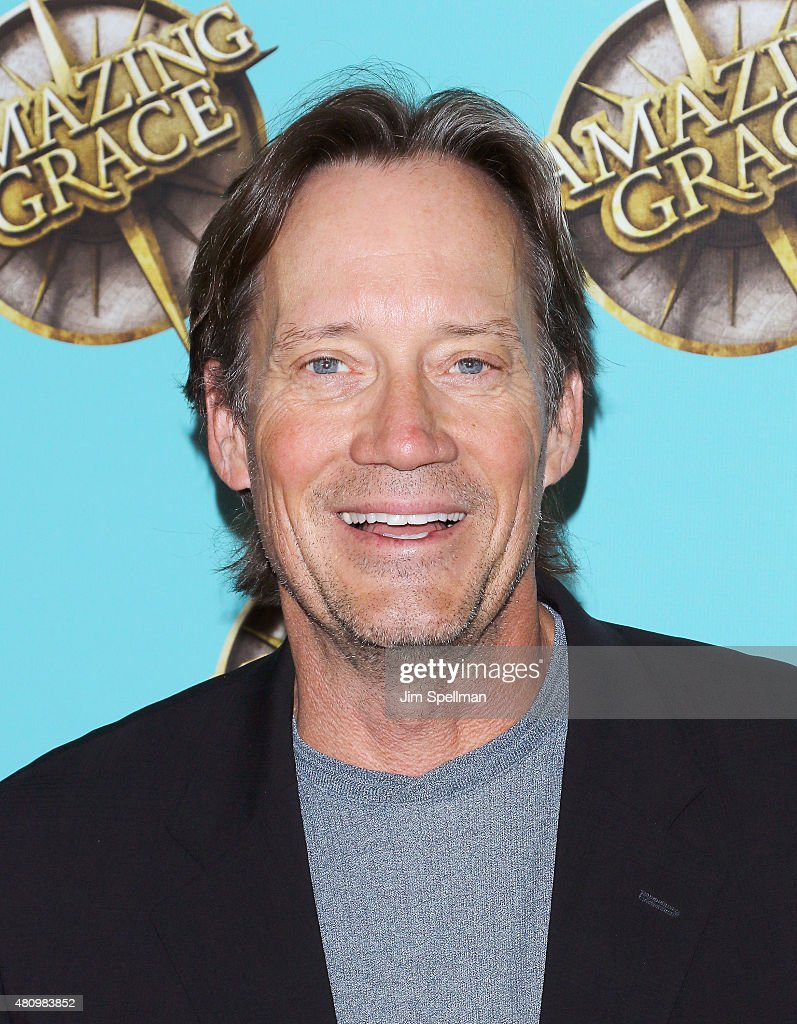Actor Kevin Sorbo attends the 'Amazing Grace' broadway opening night at Nederlander Theatre on July 16, 2015 in New York City.