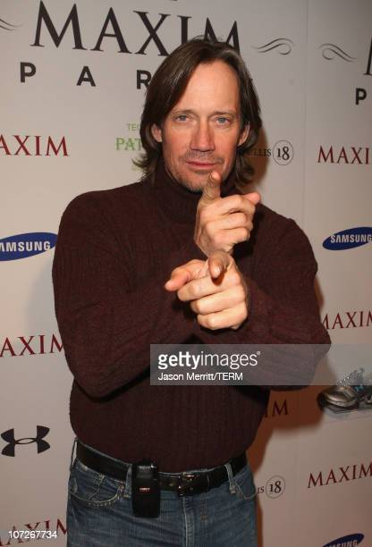 Actor Kevin Sorbo attends the MAXIM magazine kicks off Super Bowl weekend at the Grand Opening of Stone Rose Lounge Scottsdale on February 1 2008 in...
