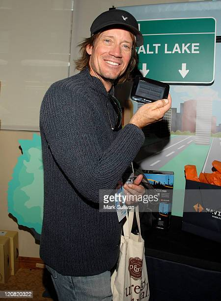 Actor Kevin Sorbo attends the Pure Natural Celebrity EcoRetreat produced by backstage Creations on January 20 2008 in Park City Utah