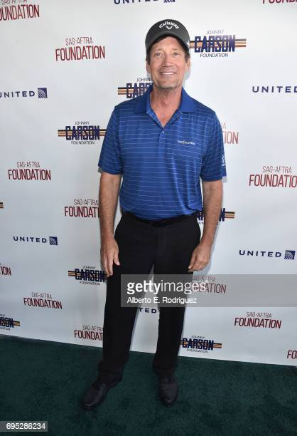 Actor Kevin Sorbo attends the SAGAFTRA Foundation 8th Annual LA Golf Classic Fundraiser at Lakeside Golf Club on June 12 2017 in Los Angeles...