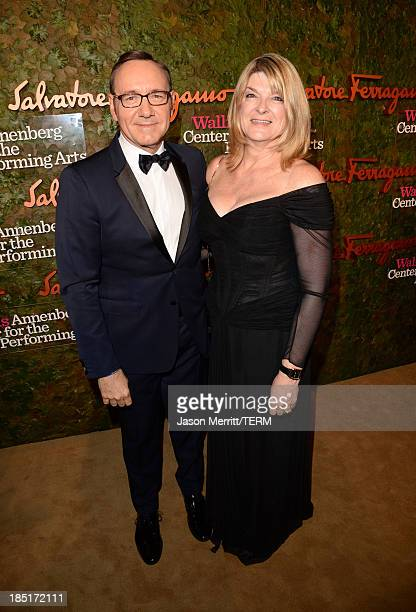 Actor Kevin Spacey and Wallis Annenberg Center for the Performing Arts Executive Director Lou Moore attend the Wallis Annenberg Center for the...