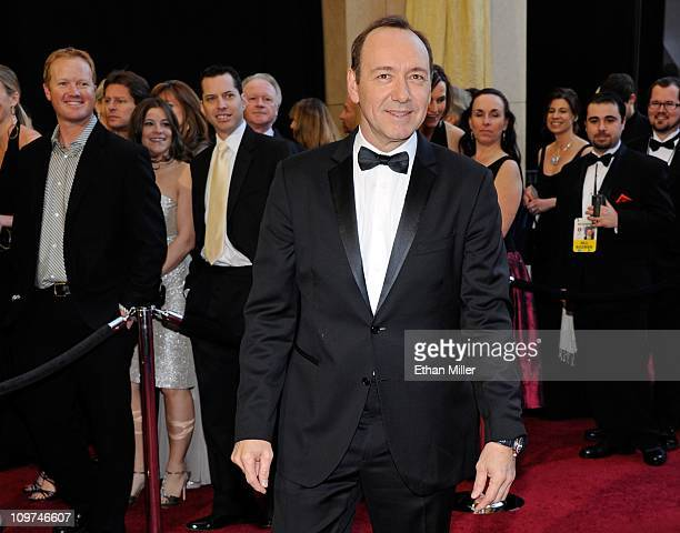 Actor Kevin Spacey arrives at the 83rd Annual Academy Awards at the Kodak Theatre February 27 2011 in Hollywood California