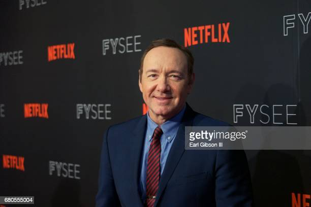 Actor Kevin Spacey attends Netflix's 'House Of Cards' for your consideration event at Netflix FYSee Space on May 8 2017 in Beverly Hills California