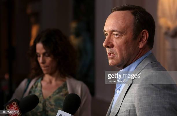 Actor Kevin Spacey attends Netflix's 'House of Cards' For Your Consideration QA on April 25 2013 at the Leonard H Goldenson Theatre in North...