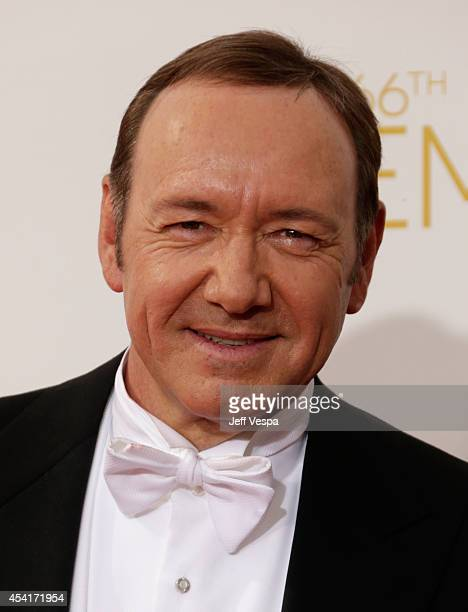 Actor Kevin Spacey attends the 66th Annual Primetime Emmy Awards held at Nokia Theatre LA Live on August 25 2014 in Los Angeles California