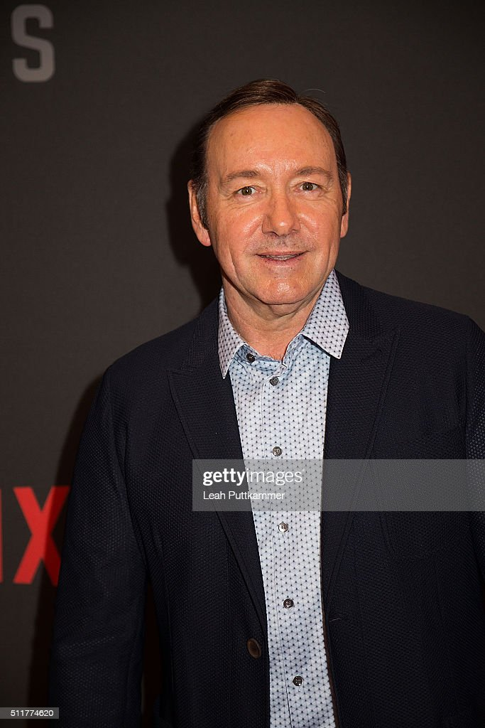 Good Actor Kevin Spacey Attends The U0027House Of Cardsu0027 Season 4 Premiere At The  National