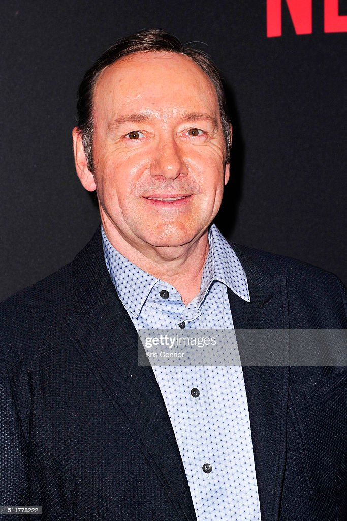 Actor Kevin Spacey attends the 'House Of Cards' Season 4 Premiere at the National Portrait Gallery on February 22, 2016 in Washington, DC.