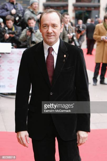 Actor Kevin Spacey attends The Prince's Trust and RBS Celebrate Success Awards held at the Odeon Leicester Square on March 18 2008 in London England
