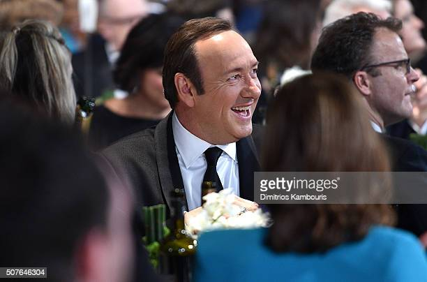 Actor Kevin Spacey during The 22nd Annual Screen Actors Guild Awards at The Shrine Auditorium on January 30 2016 in Los Angeles California 25650_013