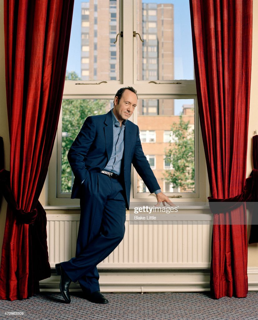 Kevin Spacey, Parade, October 2004