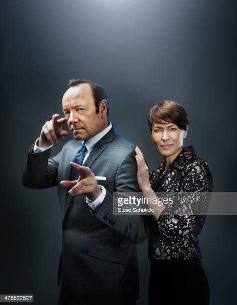 Actor Kevin Spacey is photographed for Emmy magazine on December 5 2012 in Los Angeles California