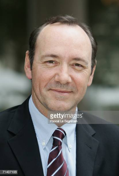 Actor Kevin Spacey poses during a photo call for the Bryan Singer's film 'Superman Returns' at the Bristol hotel on July 10 2006 in Paris France