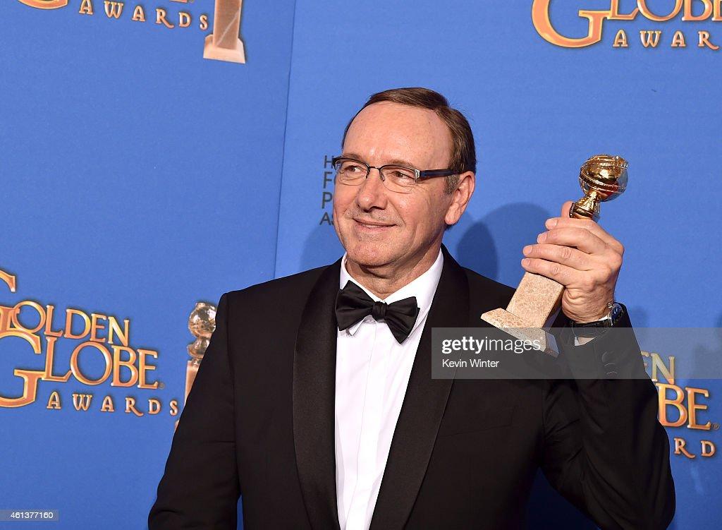 72nd Annual Golden Globe Awards - Press Room : News Photo