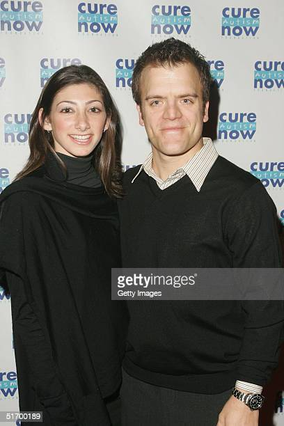 Actor Kevin Weisman and Jodi Tanowitz attend Cure Autism Now's 3rd annual Acts of Love fundraising event at The Coronet Theatre North Cienga Blvd...