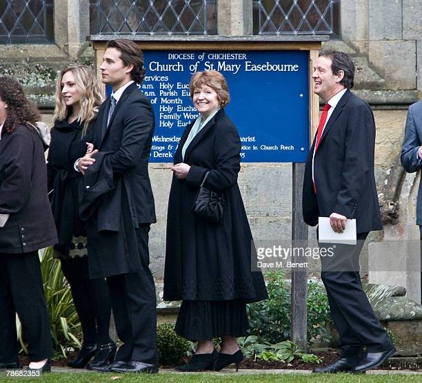 Actor Kevin Whately attends the wedding of Billie Piper and Laurence Fox at the Parish Church of St. Mary on December 31, 2007 in Easebourne, West...
