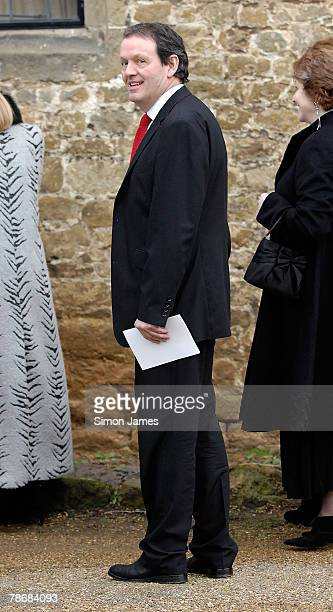 Actor Kevin Whately leaves the wedding of Billie Piper and Laurence Fox at the Parish Church Of St Mary's on December 31 2007 in Easebourne West...