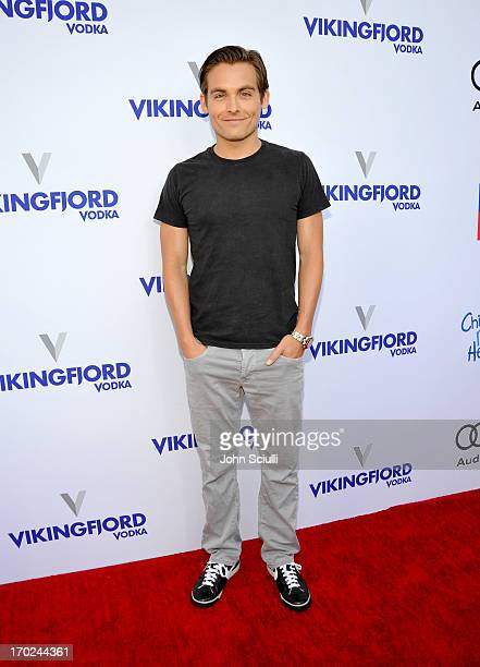 Actor Kevin Zegers arrives at the 1st Annual Children Mending Hearts Style Sunday on June 9 2013 in Beverly Hills California