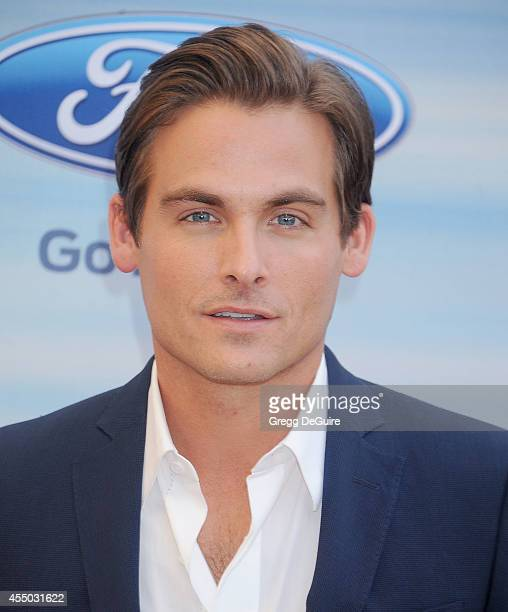 Actor Kevin Zegers arrives at the 2014 FOX Fall EcoCasino Party at The Bungalow on September 8 2014 in Santa Monica California