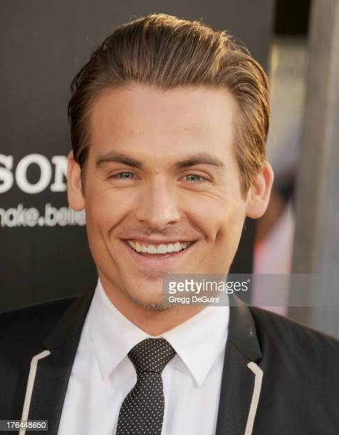 """Actor Kevin Zegers arrives at the Los Angeles premiere of """"The Mortal Instruments: City Of Bones"""" at ArcLight Cinemas Cinerama Dome on August 12,..."""