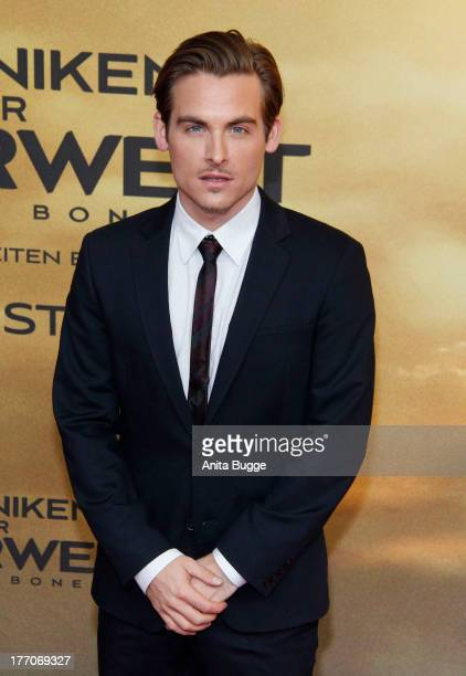 Actor Kevin Zegers attends the 'The Mortal Instruments City of Bones' Germany premiere at Sony Centre on August 20 2013 in Berlin Germany