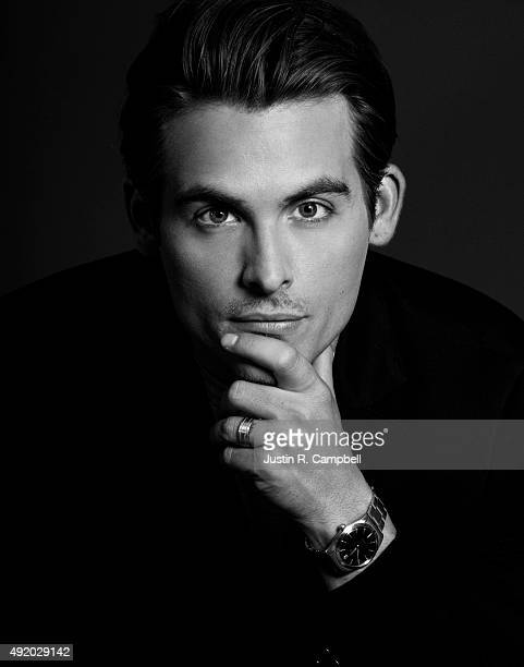 Actor Kevin Zegers is photographed for Just Jared on August 9 2013 in Los Angeles California