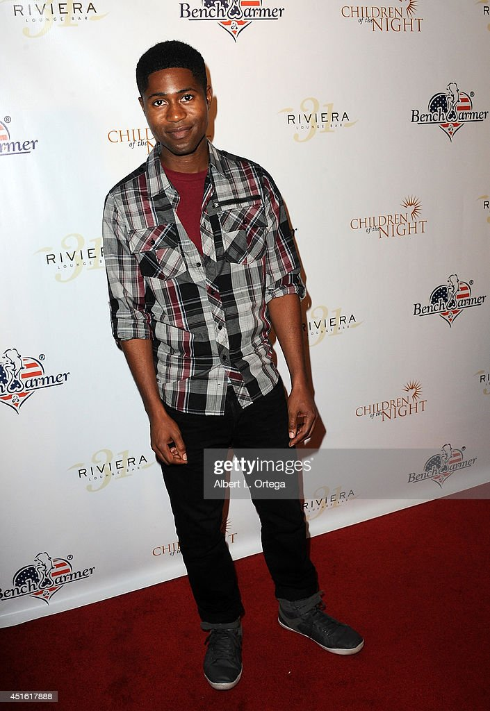Actor Kevyn Richmond arrives for BenchWarmer's Annual Stars & Stripes Celebration held at Riviera 31 on July 1, 2014 in Beverly Hills, California.