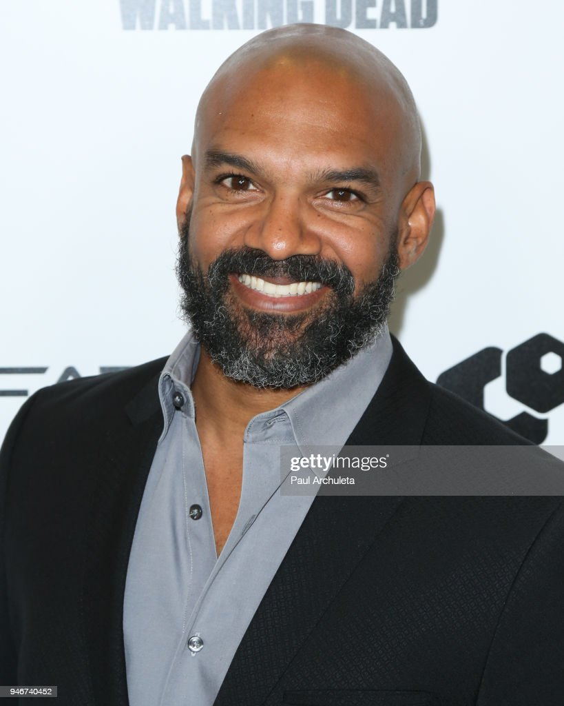 Actor Khary Payton attends 'Survival Sunday: The Walking Dead and Fear The Walking Dead' at AMC Century City 15 theater on April 15, 2018 in Century City, California.