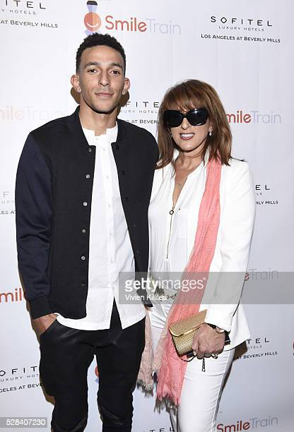Actor Khleo Thomas and Raquel Thomas attend Karrueche Tran And Quincy Brown Host Smile Train YLC Los Angeles Benefit At Sofitel Beverly Hills at...