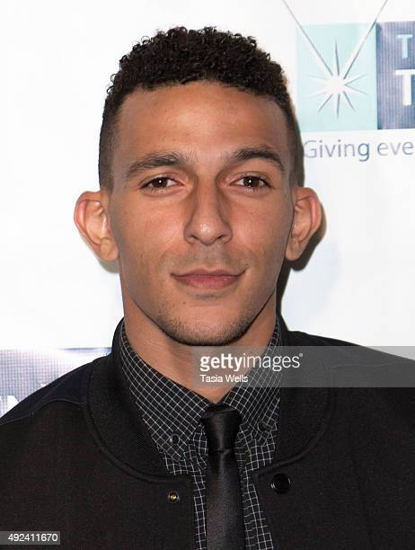 Actor Khleo Thomas arrives at The Teen Project's Hollywood Red Carpet Event at TCL Chinese 6 Theatres on October 12 2015 in Hollywood California