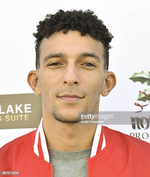 Actor Khleo Thomas is seen arriving at The District for the Charmaine Blake Ultra Gold Gifting Suite on September 16 2016 in Los Angeles California