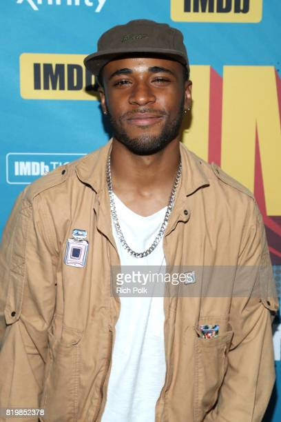 Actor Khylin Rhambo at the #IMDboat At San Diego Comic-Con 2017 on the IMDb Yacht on July 20, 2017 in San Diego, California.