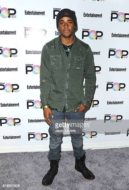 Actor Khylin Rhambo attends Entertainment Weekly's Popfest at The Reef on October 30, 2016 in Los Angeles, California.