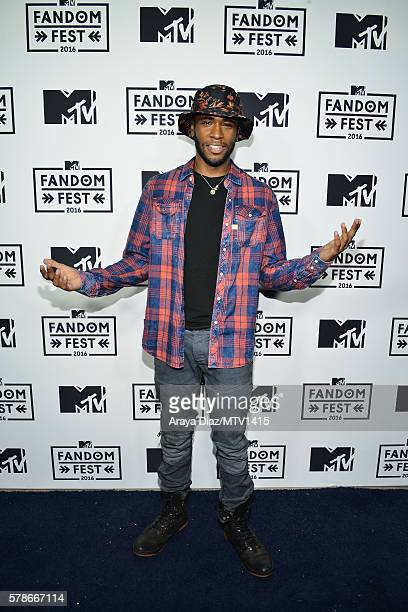 Actor Khylin Rhambo attends the MTV Fandom Awards San Diego at PETCO Park on July 21, 2016 in San Diego, California.