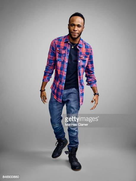 Actor Khylin Rhambo from 'Teen Wolf' is photographed for Entertainment Weekly Magazine on July 21 2016 at Comic Con in the Hard Rock Hotel in San...