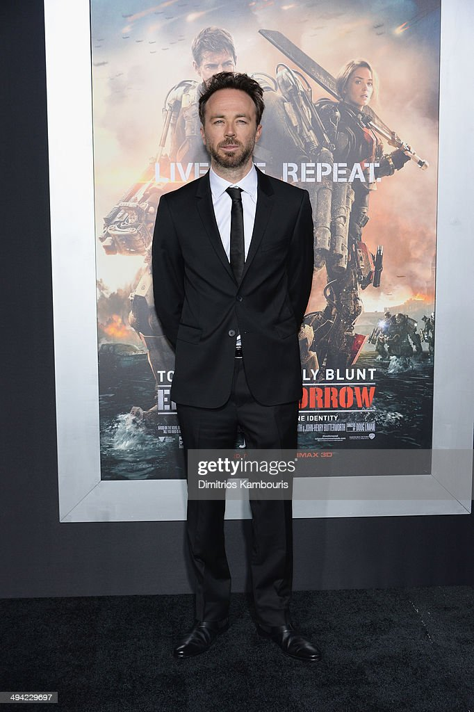 Actor Kick Gurry attends the 'Edge Of Tomorrow' red carpet repeat fan premiere tour at AMC Loews Lincoln Square on May 28, 2014 in New York City.