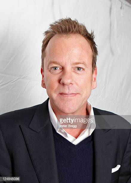 """Actor Kiefer Sutherland arrives at """"Meloncholia"""" Premiere at Ryerson Theatre during the 2011 Toronto International Film Festival on September 10,..."""