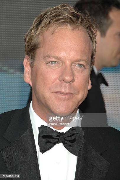 Actor Kiefer Sutherland arrives at the 59th annual Primetime Emmy�� Awards held at the Shrine Auditorium