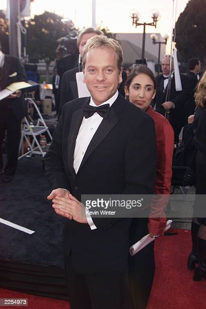 Actor Kiefer Sutherland at the 28th Annual People's Choice Awards held at the Pasadena Civic Auditorium in Los Angeles Ca Jan 13 2001