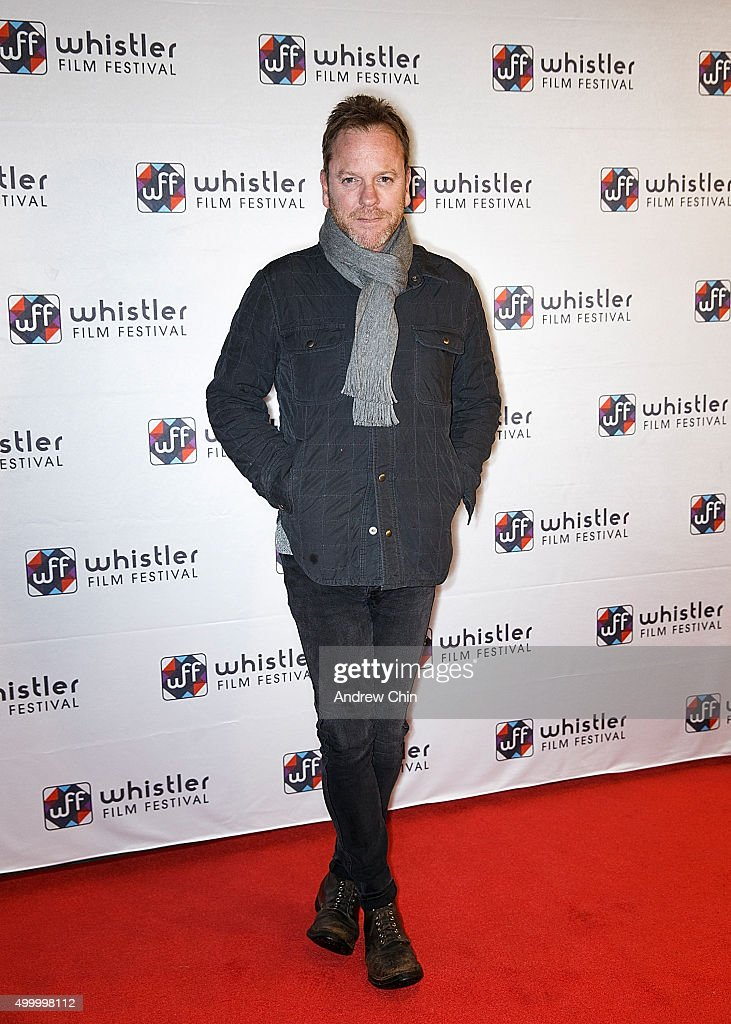Actor Kiefer Sutherland attends the Borsos Competition/Western Canadian premiere of 'Forsaken' during the 15th Annual Whistler Film Festival at Whistler Conference Centre on December 4, 2015 in Whistler, Canada.