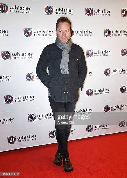 Actor Kiefer Sutherland attends the Borsos Competition/Western Canadian premiere of 'Forsaken' during the 15th Annual Whistler Film Festival at...