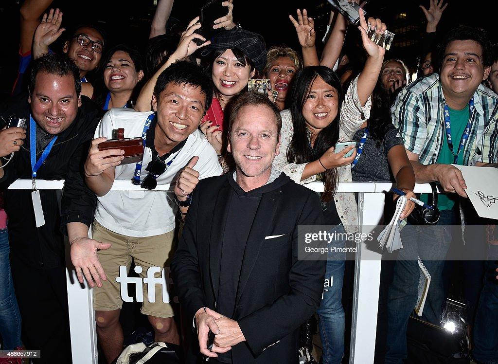 2015 Toronto International Film Festival - 'Forsaken' Premiere - Red Carpet : Nachrichtenfoto