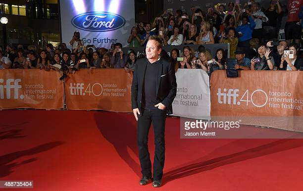 Actor Kiefer Sutherland attends the 'Forsaken' premiere during the 2015 Toronto International Film Festival at Roy Thomson Hall on September 16 2015...