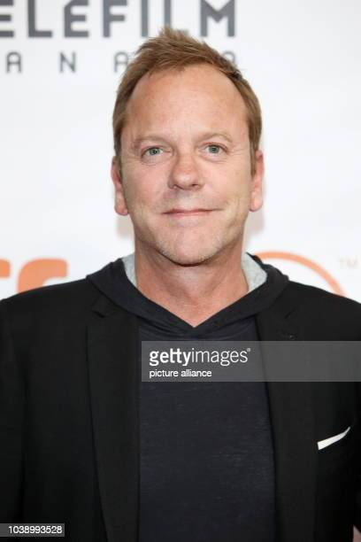 Actor Kiefer Sutherland attends the premiere of Forsaken during the 40th Toronto International Film Festival TIFF at Roy Thomson Hall in Toronto...