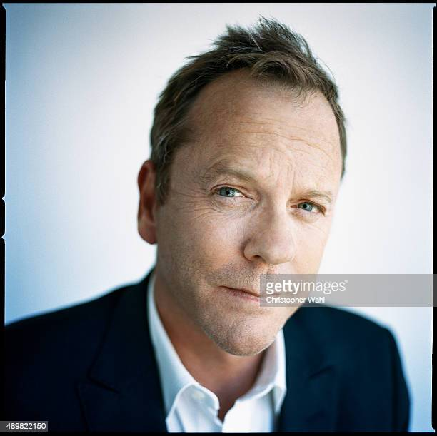 Actor Kiefer Sutherland is photographed for The Globe and Mail on September 15 2015 in Toronto Ontario